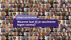Waarom laat jij je vaccineren tegen corona? on Vimeo