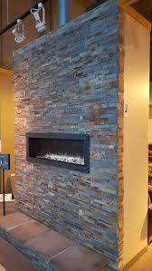 heat glo mezzo fireplace installation in our waukesha showroom