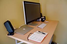basic office desk. Laptop Standing Desk Basic Office