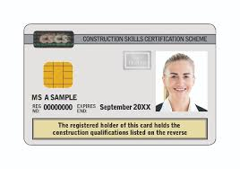 this card is available to people who have pleted certain construction degrees hnds hncs ciob certificates and nebosh diplomas