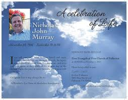 funeral flyer celestial goodbyes 8 5 x 11 funeral flyer digital you can print