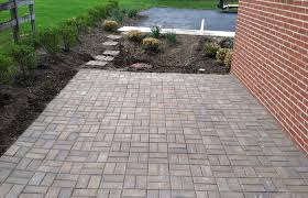 attractive stone pavers patio ideas of interior design beautiful diy paver driveway paver stone patios