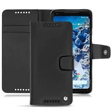 noreve book cover tradition b leather case google pixel 2 xl noreve 1