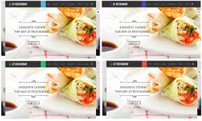 Free Meal Ticket Template Custom AT Restaurant Free Food Order Restaurant Joomla Template Age