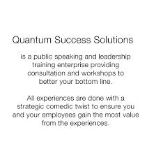 Alaina G. Levine - Quantum Success Solutions - Speaker - Writer