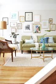 eclectic floor lamp framed art