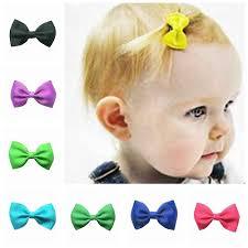 2018 Newborn Child Headbands Flower Mini <b>Satin</b> Ribbon Bow ...