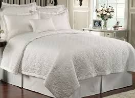 white luxury bedding. Simple White Lismore Quilt White By Waterford Luxury Bedding Intended O