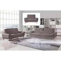 modern fabric sofa set. Divani Casa Potash Modern Taupe Fabric Sofa Set L