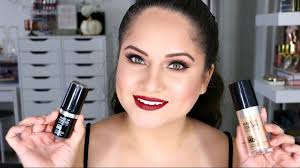 makeup forever ultra hd liquid and stick foundation review demo and check ins oily skin you