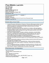 Government Resume Template Luxury Federal Government Resume