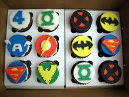 Superhero Cupcakes Justjenn Recipes Justjenn Recipes