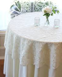 plastic lace tablecloths best tablecloth wedding ideas on within round vinyl 70