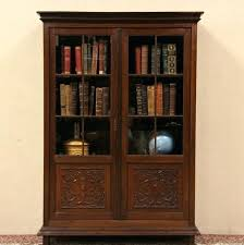 solid wood bookcases lo3zamosc info within wooden bookcase with doors decor 16