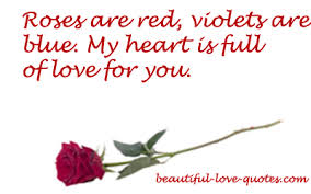 Cute Love Quotes Impressive Roses Are Red Poems Short Love Poetry