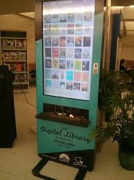 Book Vending Machine Library Beauteous San Antonio Airport Installs Digital Library Kiosks For Travelers