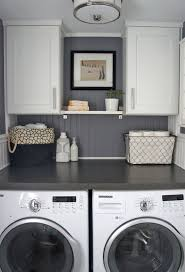 Cool Tiny Laundry Shelving Design