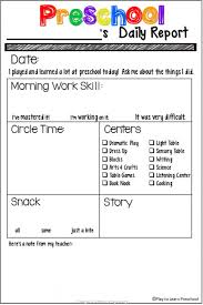 Daily Lesson Plan Template Forchool Pictures High Resolution ...