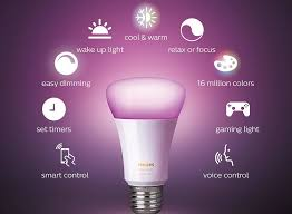 Philips Home Automation Lighting Pick Up A Philips Hue Color Capable Smart Bulb For 36 12