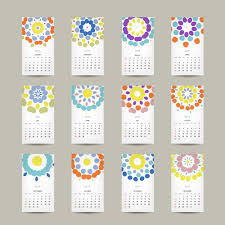 Simple 2015 Calendar Simple 2015 Calendar Cards Vector Graphics 01 Free Download