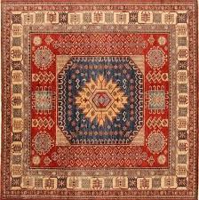 8 x8 square rug square rug square rug red square 7 to 8 ft wool carpet