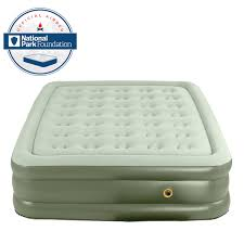 queen size air mattress coleman. Coleman SupportRest Double High AIR MATTRESS CAMPING Gear Queen Size BED NEW Air Mattress