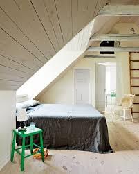 Attic Bedroom Design With Scandinavian Style