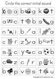 Pre K Alphabet Worksheets Worksheets