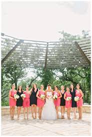 Coral and Navy Bridesmaids by Awake Photography | Event design Westcott  Weddings http://