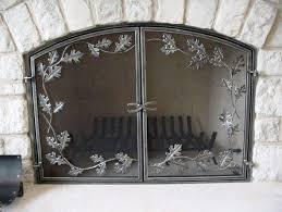 fireplace mesh curtain