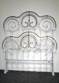 Victorian bed frame from the Chicago area w/ very unusual curved ...