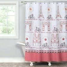 paris shower curtain shower curtains perfect decoration shower curtain trendy ideas curtains from bed bath