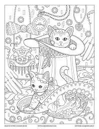 top hat creative kittens coloring book by marjorie sarnat and like get some yourself some pawtastic adorable cat apparel