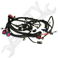 engine wire harness amazon com Ford 6.0 Oil Cooler oe ford 5c3z12b637ba 6 0l diesel engine wire wiring harness pigtail connector