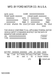 Ford Leaf Spring Code Chart Ford Truck Spring Codes Blue Oval Trucks