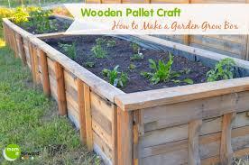 box garden. How To Make Garden Box