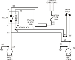 tr3 horn relay ottawa valley triumph club ovtc figure 2 wiring diagram for installation of horn relay