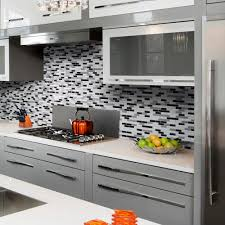 Smart Tiles Kitchen Backsplash Smart Tiles Murano Stone 910 In X 102 In Peel And Stick Mosaic