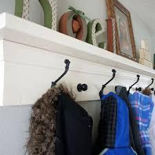Coat Rack Shelf Inspiration Hand Made Entryway Coat Rack Shelf by KellieShelves CustomMade