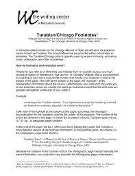 Example Of Chicago Style Essay Learn These Chicago Turabian Style Bibliography Sample