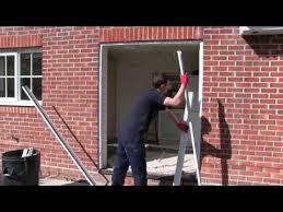 aluminium sliding patio door installation