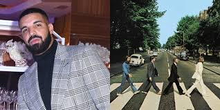 Drake takes jab at the <b>Beatles with</b> Abbey Road tattoo after beating ...