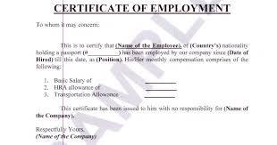 18 Sample Certificate Of Employment The Principled Society