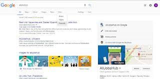 Google Update All Jobs Hub