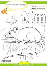 Kindergarten Kids Under 7: Letter M Worksheets And Coloring Pages ...