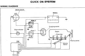 GlowSchematic glow plug wiring diagram caterpillar wiring schematics \u2022 wiring on kubota glow plug wiring diagram