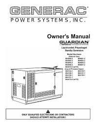 Generac Generator Repair Manual