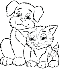 Cute Coloring Pages Of Animals Coloring Pages Animals Cute Animal