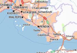 pendik haritası ile ilgili görsel sonucu