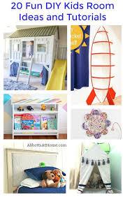 fun diy kids room ideas and tutorials